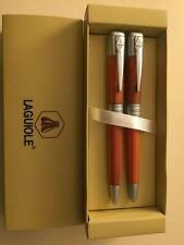 Parure de stylos LAGUIOLE Bic + Plume différents coloris selon disponibilité