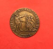 Médaille ACADÉMIE INTERNATIONALE DE LUTECE