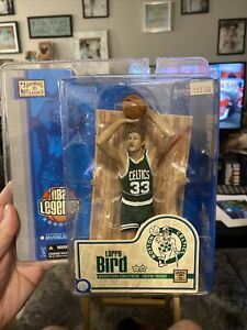 Larry Bird Boston Celtics Green McFarlane NBA Legends Hardwood Floor NIP 2005