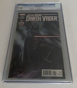 Darth Vader 1 A 1st appearance Black Krrsantan Doctor Cylo 2015 CGC 9.8