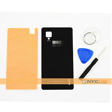 Housing Battery Back Cover Door Glass + Tool Adhesive Fr LG Optimus G E975 Black