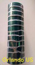 "12Rolls/bulk High Temp Polyester Green Masking Tape Powder Coating 1"" x 36yds US"