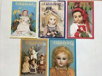 5 - GILDEBRIEF Magazines - 1995 - Vol 3, Dollmaking -  Hats, Boots, Dressmaking