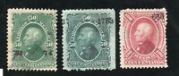 Mexico - Sc# 110 Used + 111 & 121 MH (rem)    -    Lot 0420164