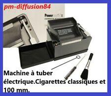 TUBEUSE Electrique Powermatic 2 +. Machines à tuber Cigarette classique et 100mm