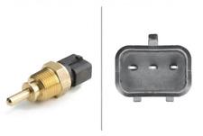Sensor, refrigerante temperatura para refrigeración eje delantero Hella 6pt 009 309-621