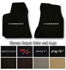 Dodge Charger Velourtex Carpet Floor Mats- Choice of Carpet Color & Logo
