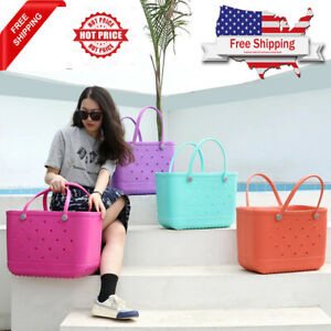 Bogg Bag Style Shoulder Bag lady Shopping Extra Large Beach BAG