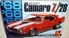 amt 1/25 1968 CHEVY CAMARO Z/28 COUPE 2n1 STOCK CUSTOM