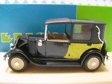 ELIGOR 1:43 AUTO DIE CAST RENAULT NN 1927 TORPEDO DECOUVERT NOIR ART. 1041