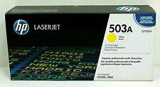 HP 503A Yellow Original Laserjet CP3505 3800 Toner Cartridge Q7582A