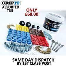 Grip It Plasterboard Fixings - FULL KIT ASSORTED TRADE TUB