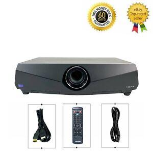 Sony VPL-FX40 3LCD Projector 4000 Lumens Professional HDMI HD 1080p w/Remote