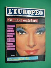 L'Européen 1961 May Britt Kim Novak Jane Fonda Jayne Mansfield Weld Nancy