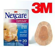 Genuine 3M Nexcare Opticlude Orthoptic Eye Patches Junior Size - 3 Pack 60 Count