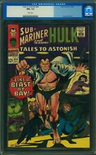 TALES TO ASTONISH #84 CGC 9.6 WHITE PAGES 2ND HIGHEST GRADED ! CGC #104098007