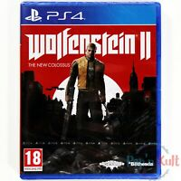 Jeu Wolfenstein II : The New Colossus [VF] PlayStation 4 / PS4 NEUF sous Blister