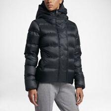 Nike Sportswear Women's Down Puffer Jacket Black 815723 010 Sz M NWT Coat