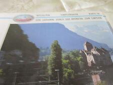 Alpenbahnen Westalpen K 16 Simplonbahn Lausanne Rhônetal St Triphen