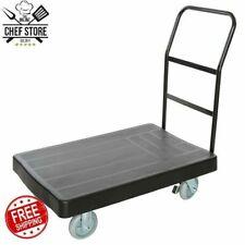 "36"" x 24"" Platform Truck Handle Cart Dolly Commercial Material Handling 1200 Lb"