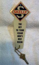 Vintage Skelly Oil Co. Gas Station Mens Rest Room Key Holder