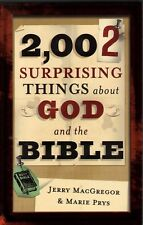 2002  Surprising Things About God & The Bible - NEW - MINT - Did You Know?  - SC