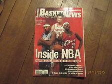 MAGAZINE BASKET NEWS HORS SERIE 12 printemps 2004 inside nba lebron james yao