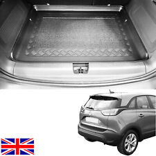 Estate Bottom Trunk Black Element EXP.ELEMENT0197212N Tailored Custom Fit Rubber Boot Liner Protector Mat for Vauxhall Crossland X 2017