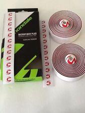 Cannondale Microfiber Plus Premium Road Bike Handlebar Tape, WHITE/RED CMPT06