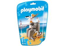 PLAYMOBIL N° 9070 Familia de pelican varias Animales ZOO para nuevo y emb. orig.