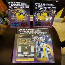 Transformers G1 Walmart Soundwave & Buzzsaw, Frenzy & Lazerbeak, Rumble & Ravage