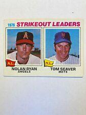1977 Nolan Ryan/tom Seaver Topps #6