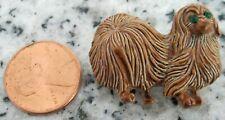 Vintaged Gerry's Enamel Pekingese Dog Pin/Brooch -Signed