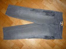BIBA - Stretch Jeans Stiefel Hose Gr. 34 grau 3/4 Länge