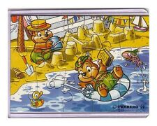 Ü-Ei Puzzle Die Top Ten Teddies Traumurlaub 1999 *UR*