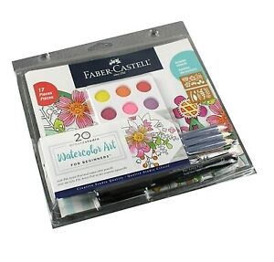 Faber Castell Watercolor Art for Beginners: Pencils, Brush, Palette, Paper New