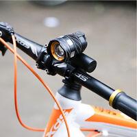 Bike Front Rear Light Bicycle Headlight Flashlight LED USB Rechargable 15000LM