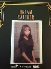 Dreamcatcher Sua Transparent The End of Nightmare Photocard