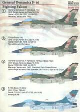 Print Scale Decals 1/72 GENERAL DYNAMICS F-16 FIGHTING FALCON Jet Fighter