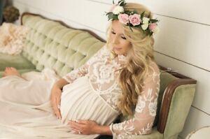 Ivory Maxi Maternity Dresses For Sale Ebay