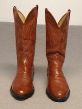 Hondo Western Cowboy Soft Leather Riding Work Casual boots men's size 8E