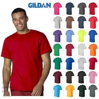 Gildan Ultra Cotton Mens Short Sleeve Tee Plain Blank Solid T-Shirt - 2000