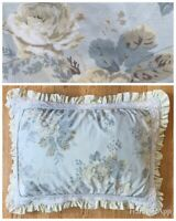 MARY JANE'S Home Standard Pillow 2 Shams Pair Cottage Ruffled Floral