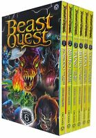 Beast Quest Series 6 Collection Box Set (Books 31-36)