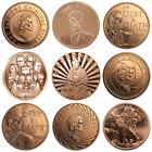 2017 Mini Mintage 1 oz .999 Pure Copper BU Round / Challenge Coin - 9 Designs