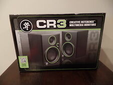 "Mackie CR3 3"" Multimedia Studio Monitors Speakers - PAIR - BRAND NEW FAST SHIP!"