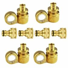 """AU 8x Garden Lawn Water Hose Pipe Fitting 1/2"""" 3/4"""" Adaptor Connector Tap"""