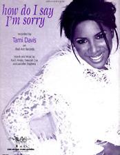 Hal Leonard Hl00351844 How Do I Say I'm Sorry (Tami Davis)
