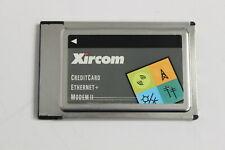 XIRCOM CEM2 CREDITCARD ETHERNET + MODEM II ADAPTER PCMCIA NO CABLES
