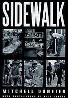 Sidewalk by Mitchell Duneier and M. Duneier (2000, Paperback)